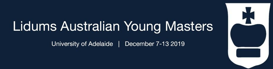 Lidums Australian Young Masters banner